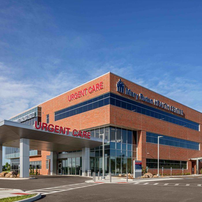Healthcare construction project - Mary Rutan Hospital